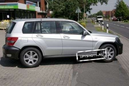 Mercedes GLK restyling laterale
