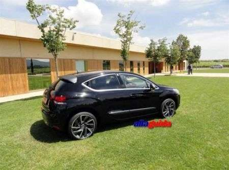 Citroen DS4 - diagonale