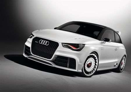 Audi A1 Clubsport quattro - frontale