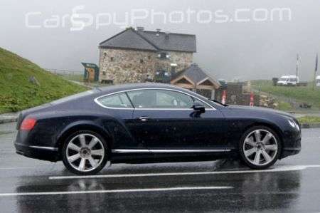 Bentley Continental GT Speed restyling lato
