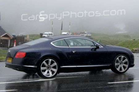 Bentley Continental GT Speed restyling fiancata