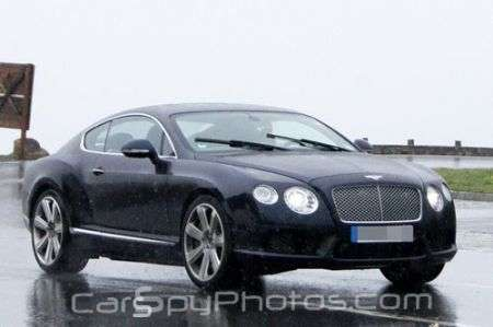 Bentley Continental GT Speed restyling anteriore