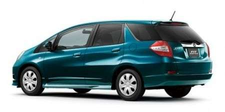 Honda Fit Shuttle Hybrid laterale