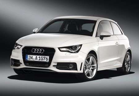 Audi A1 - frontale