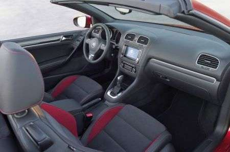 Volkswagen Golf Cabrio interni