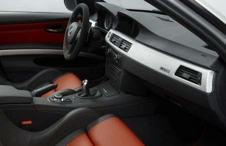 BMW M3 CRT interni