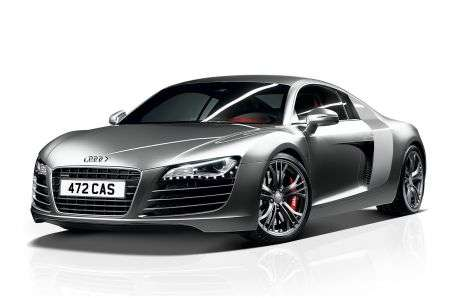 Audi R8 V8 Coupé Limited Edition anteriore