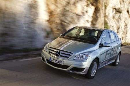 Mercedes Classe B F-Cell - muso