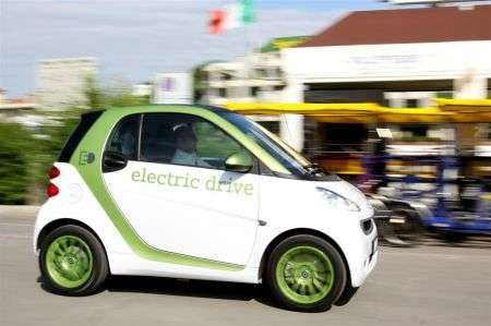Smart fortwo electric drive - laterale