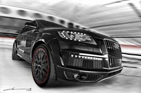 Audi Q7 Black & White - muso