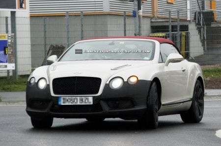 Bentley Continental GTC restyling anteriore