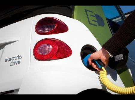 Smart fortwo electric drive - ricarica