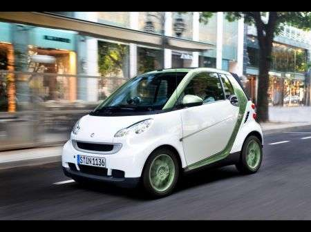 Smart fortwo electric drive - frontale
