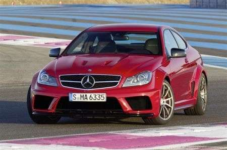 Mercedes C63 AMG Black Series Coupé - foto