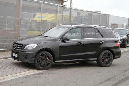 Mercedes ML63 AMG laterale