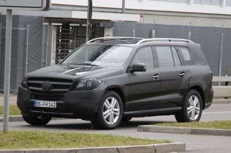 Mercedes GL test