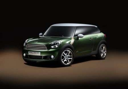 Mini Paceman Concept - frontale
