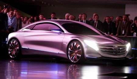 Mercedes F125 Concept - frontale
