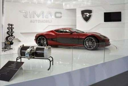 Rimac Concept One - laterale