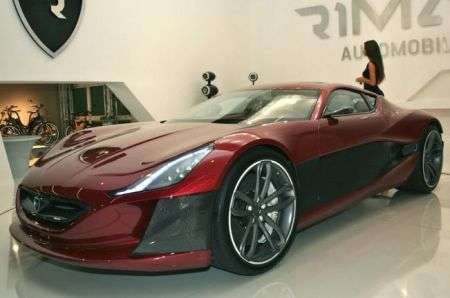 Rimac Concept One - frontale