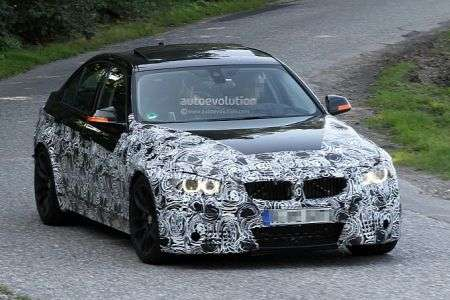 BMW M3 - frontale
