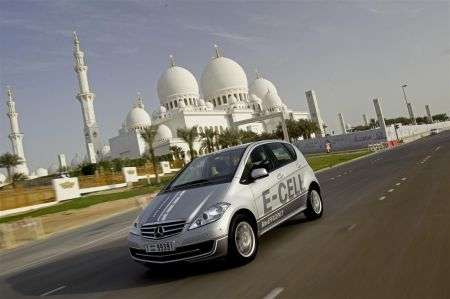 Mercedes Classe A E-Cell - frontale