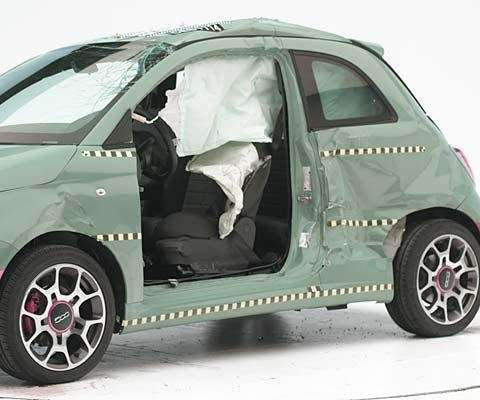 fiat 500 top safety pic iihs - fianco