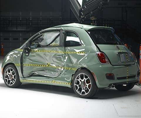 fiat 500 top safety pic iihs - laterale