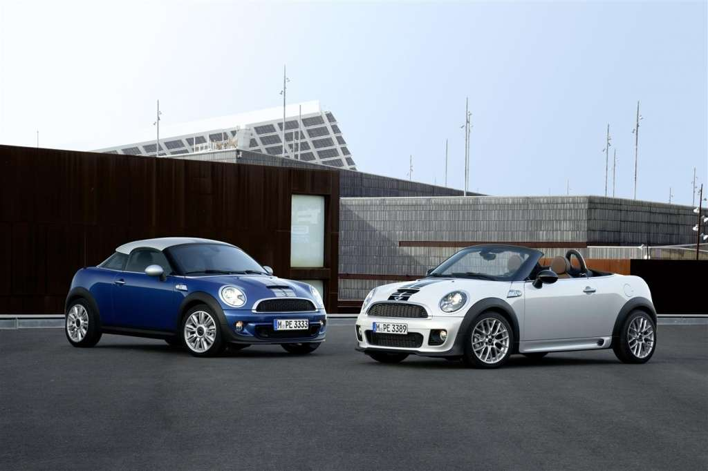 mini coupe e mini roadster