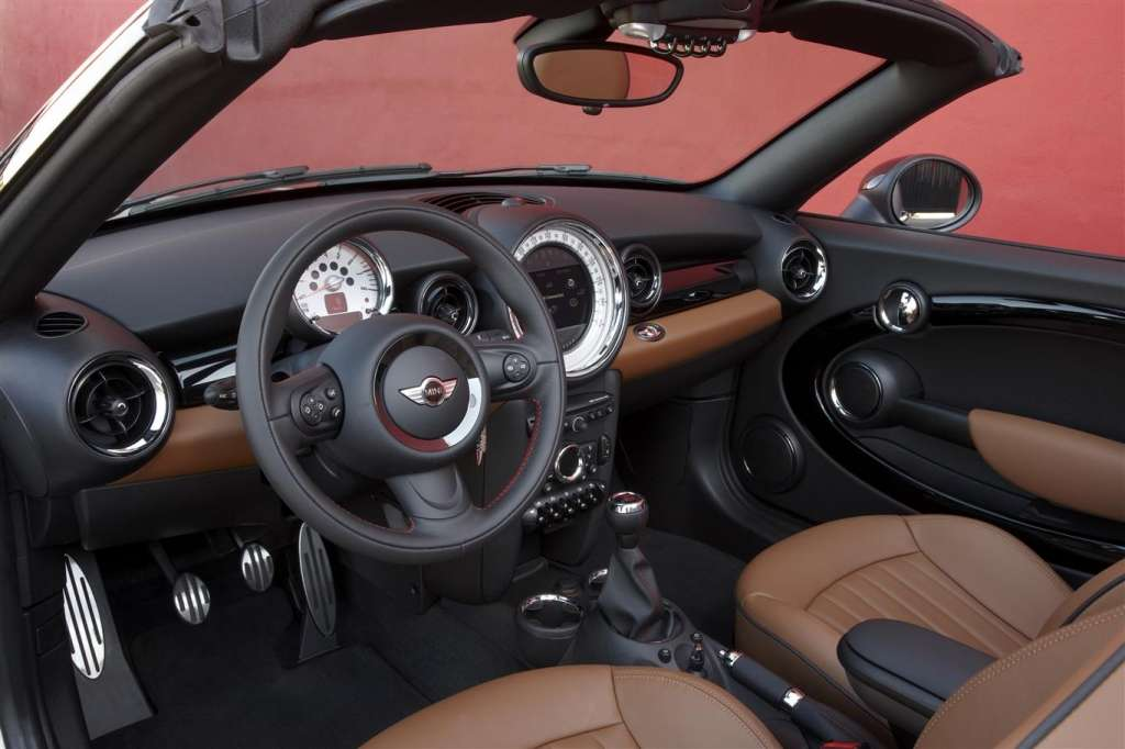 mini roadster 2012 - abitacolo