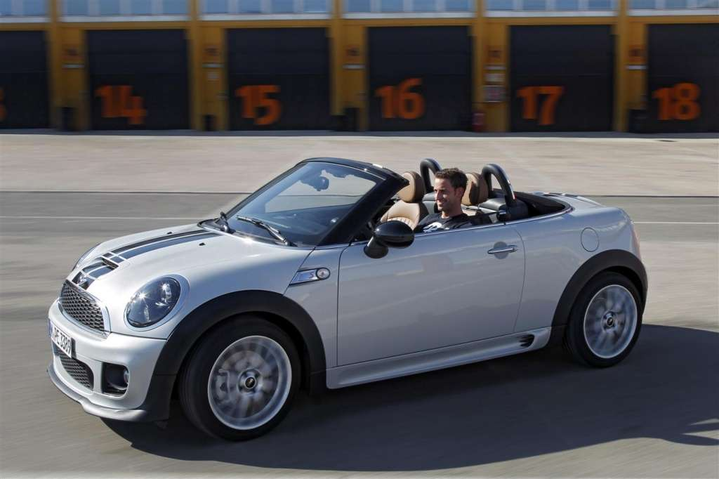 mini roadster 2012 - diagonale