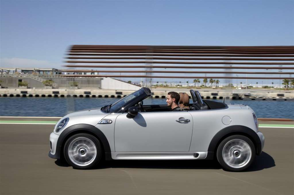 mini roadster 2012 - fiancata aperta