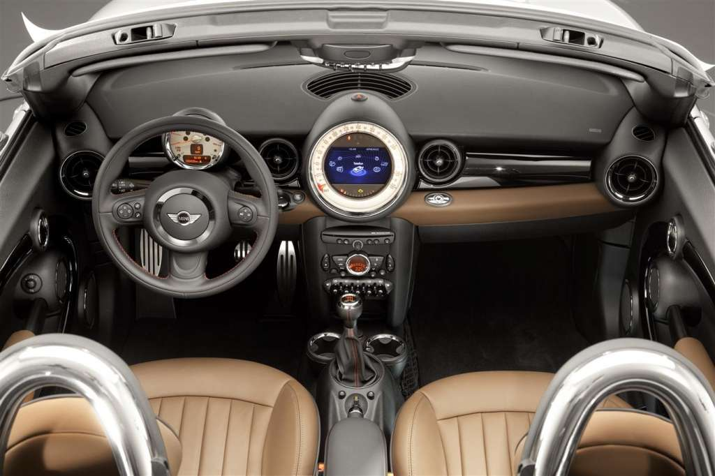 mini roadster 2012 - interni