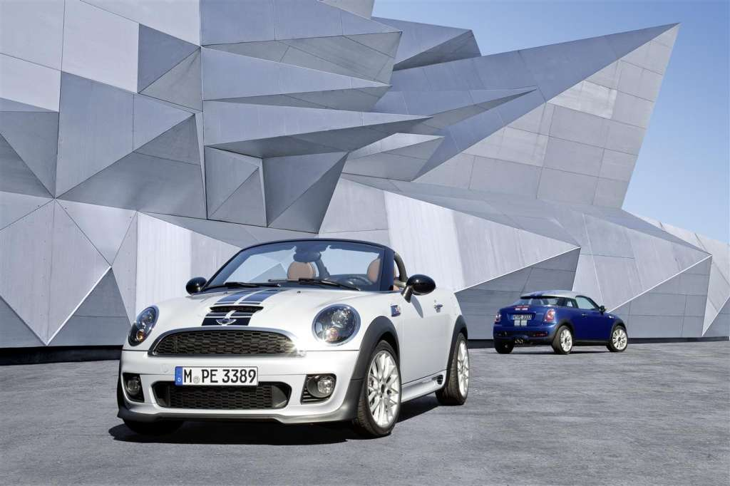 mini roadster e mini coupe 2012