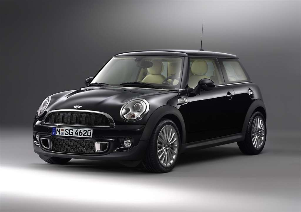 mini inspired by goodwood - frontale