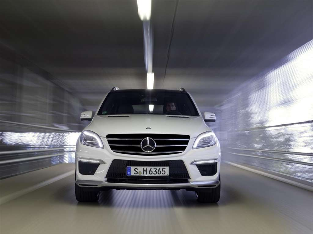 mercedes ml63 amg - frontale