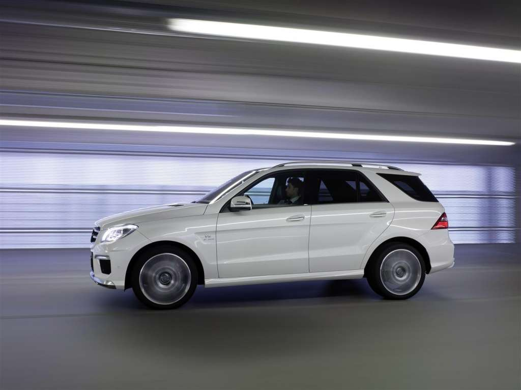 mercedes ml63 amg - laterale
