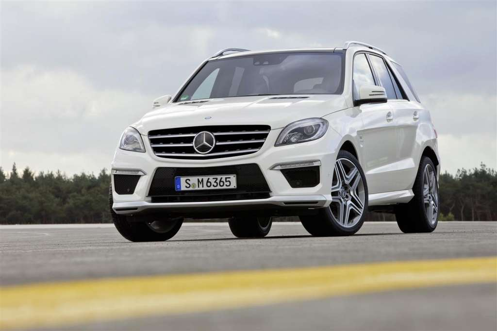 mercedes ml63 amg - muso