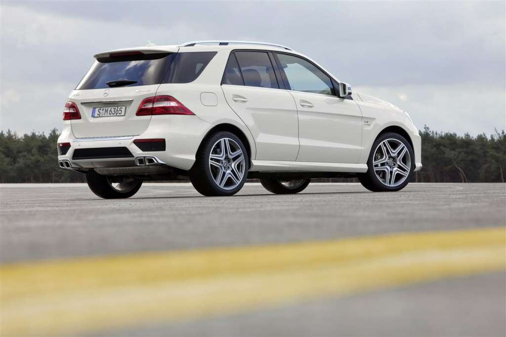 mercedes ml63 amg - posteriore