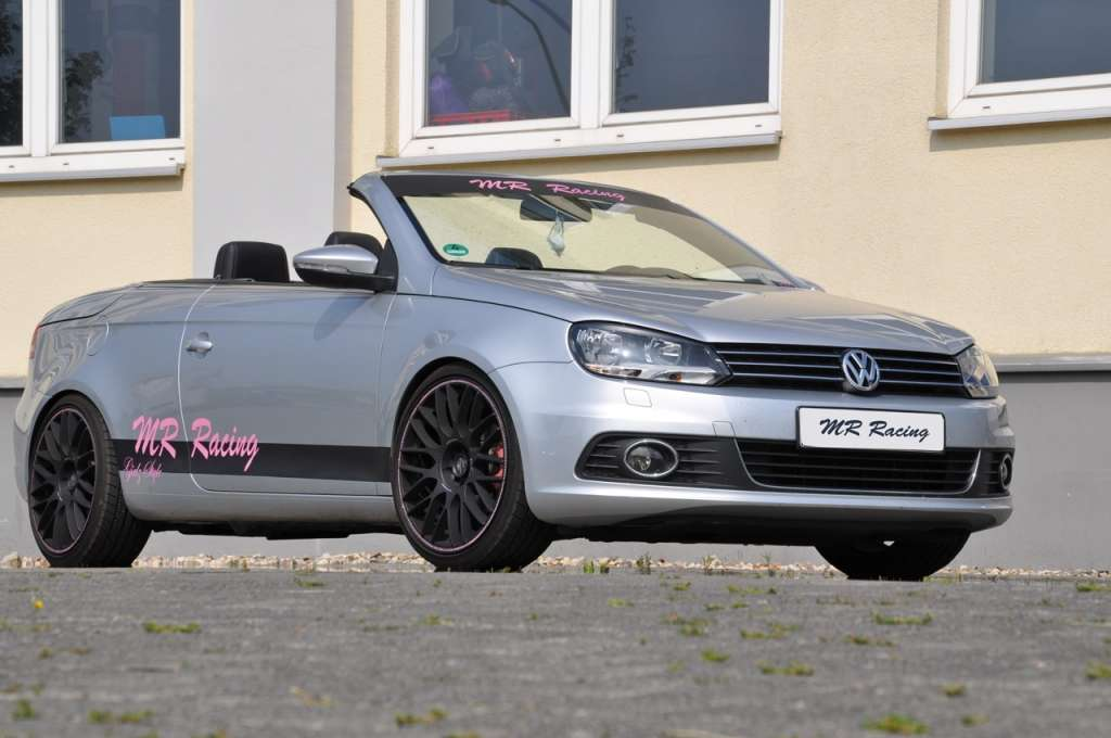 Anteriore della Volkswagen Eos by MR Racing