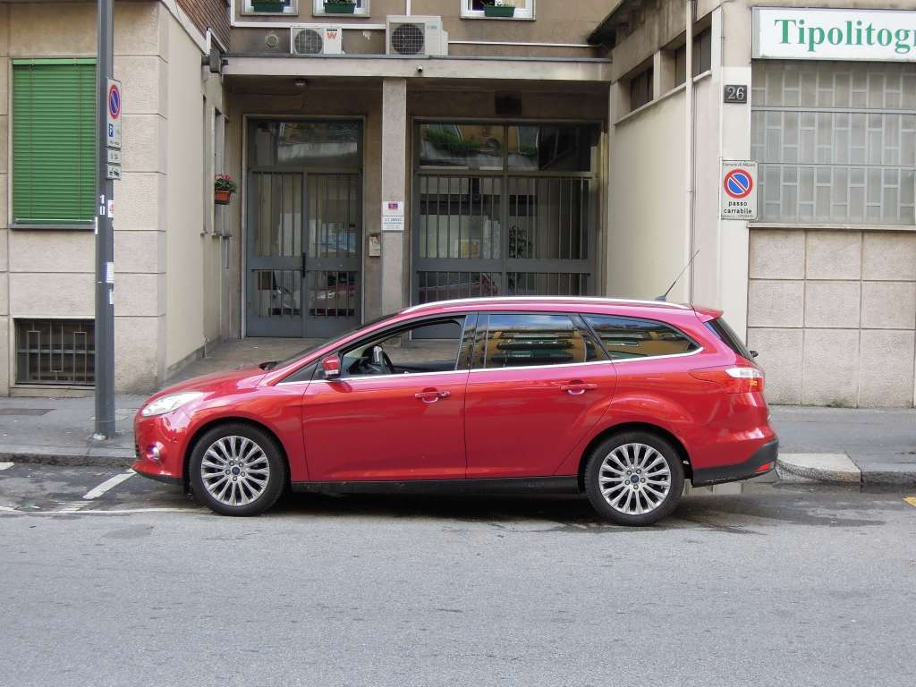 Focus TDCi 2.0 163 CV vista laterale