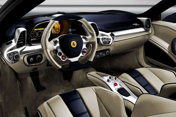 Ferrari Tailor-Made, interni