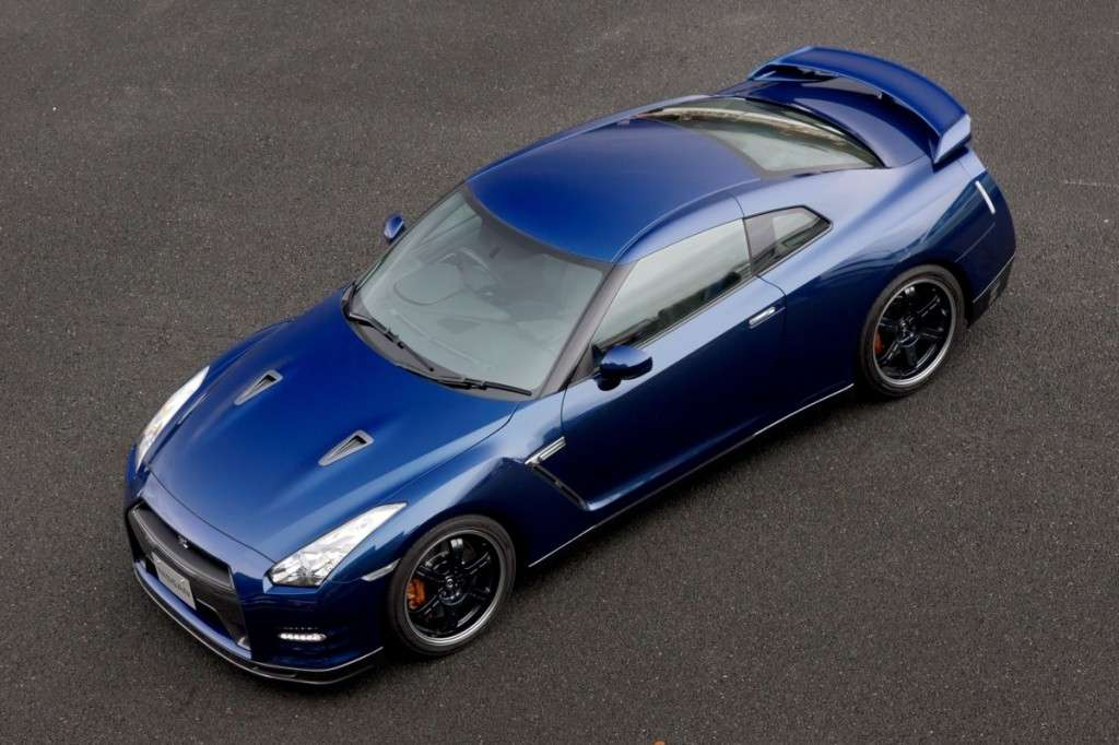 Nissan GT-R Track Pack, dall'alto