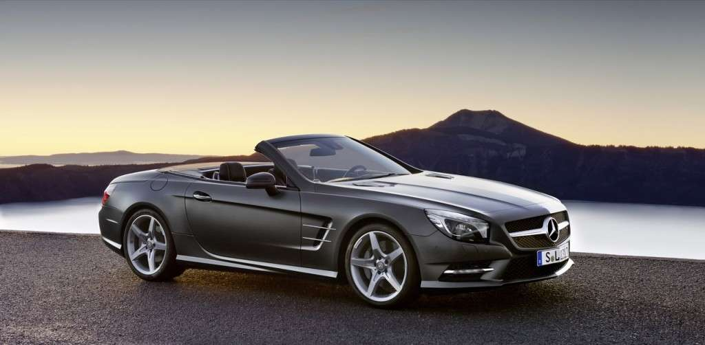 Mercedes Benz SL 2012, scura laterale