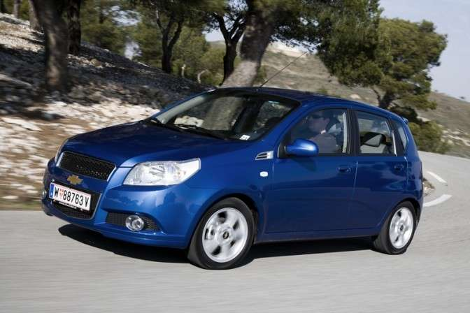 La Chevrolet Aveo 1.2 GPL Eco Logic