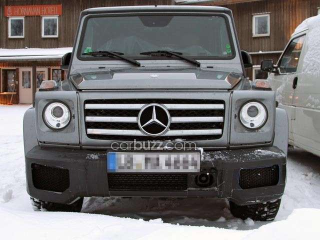 Mercedes G AMG, frontale