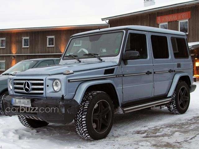 Mercedes G AMG, laterale