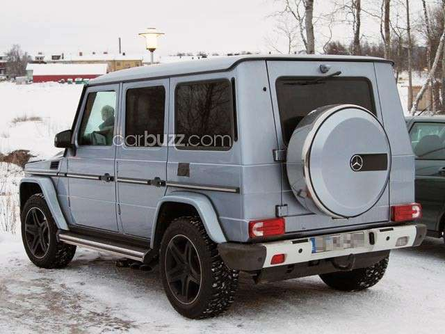 Mercedes G AMG, posteriore