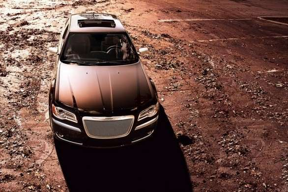 La Chrysler 300 Luxury Series dall'alto