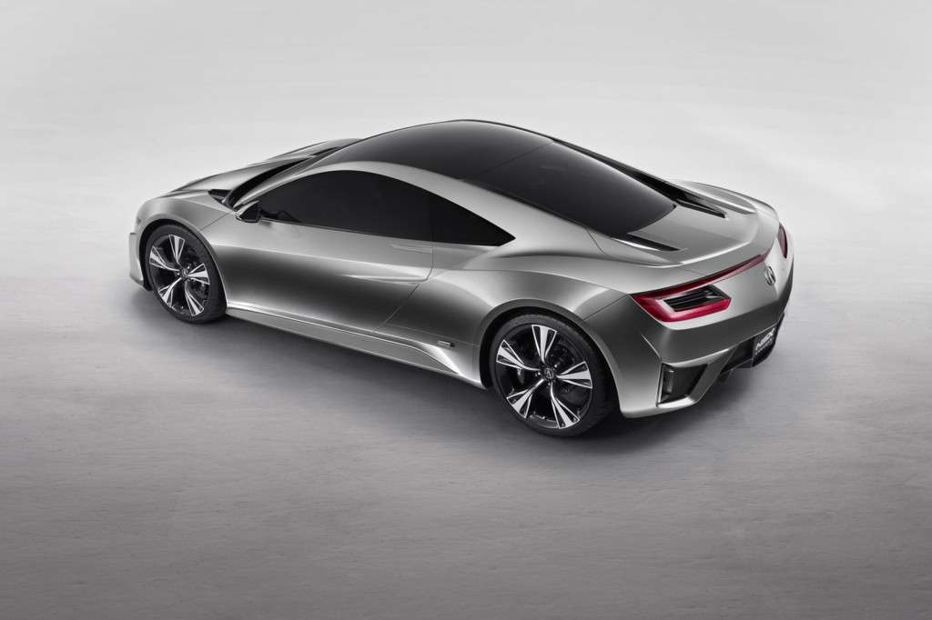 Acura NSX Concept, laterale